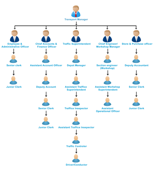 NMMT Department Structure